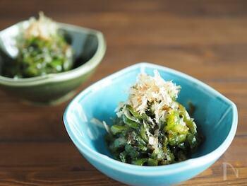 佃煮感覚で食べられる、白いご飯に合う味。ピーマンはしんなりするまで炒めるのがおいしさのコツです。
