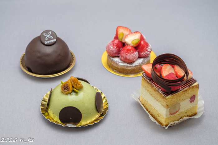正統派のお菓子たちは、見た目も美しく思わずうっとり…*自分へのご褒美にいかがですか?