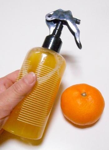油汚れも水垢汚れもこれで解決!知って得するみかんの皮を使った洗剤の作り方をご紹介します。