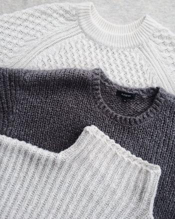 ニットやセーターを着たいけど…。敏感肌さんの【ウールのチクチク】対策