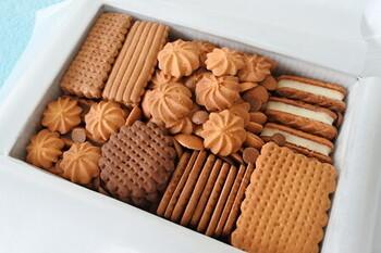 店頭で予約をすることで買えるクッキーも人気。バターの香りが良い11種類のクッキーが詰め合わせになっています。 旅行から帰った後にクッキーが届くのを楽しみに待つ時間も素敵ですね。