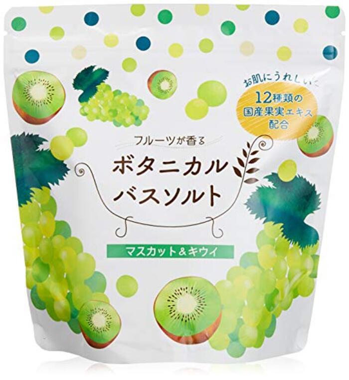 松田医薬品 フルーツが香るボタニカルバスソルト 入浴剤 マスカット キウイ