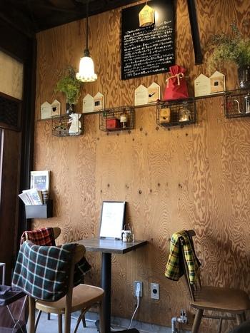 築50年の古民家をリノベーションした店内。温もりのある雰囲気にほっこりしますね。