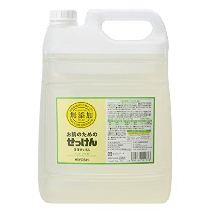 無添加 お肌のための洗濯用液体せっけん 5L