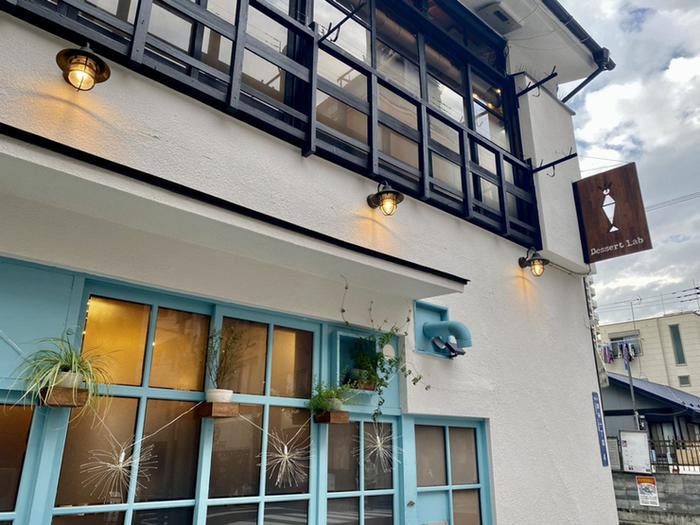 錦糸町駅から徒歩4分のところにある「Dessert lab(デザート ラボ)」は、2020年オープンした古民家をリノベーションした一軒家カフェ。お店のSNSがフォトジェニックと話題なんですよ。