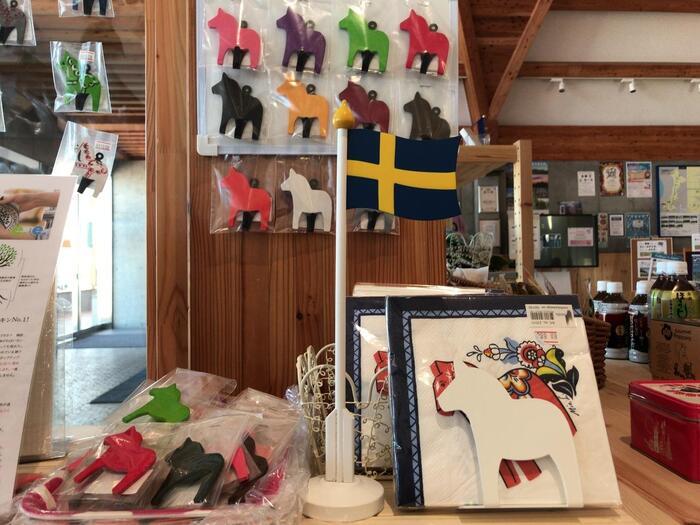 街には道の駅もあり、そこではスウェーデンの伝統的なお土産の購入も可能です♪訪れるだけで心安らぐおすすめスポットですよ。