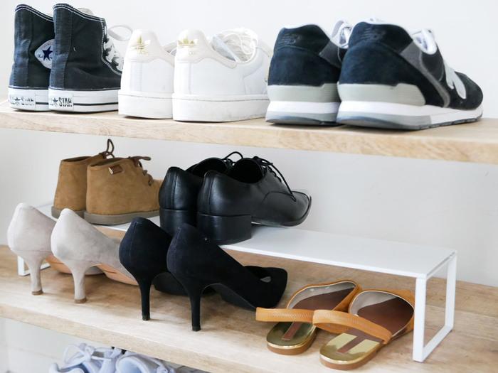 玄関がすっきり見違える「靴」の収納アイデア&便利アイテム