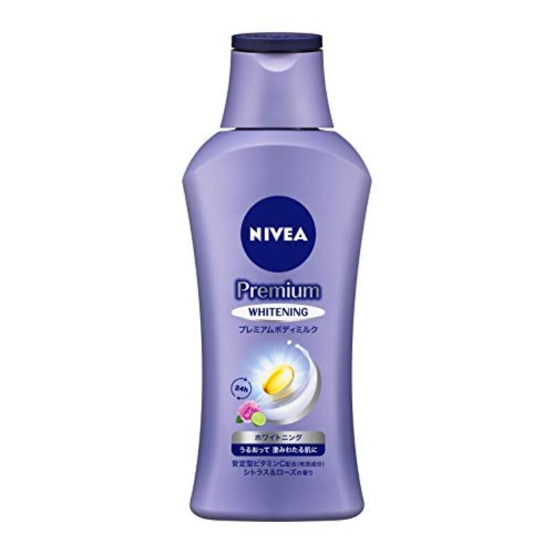 ニベア プレミアム ボディミルク ホワイトニング シトラス&ローズの香り