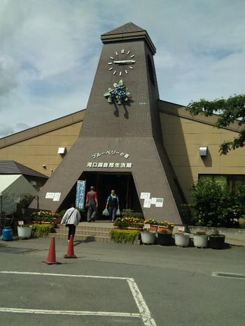 「富士山の見えるカフェ」は、河口湖北岸にある河口湖自然生活館内にあるカフェ。河口湖を訪れる方の多くが立ち寄る人気スポットです。