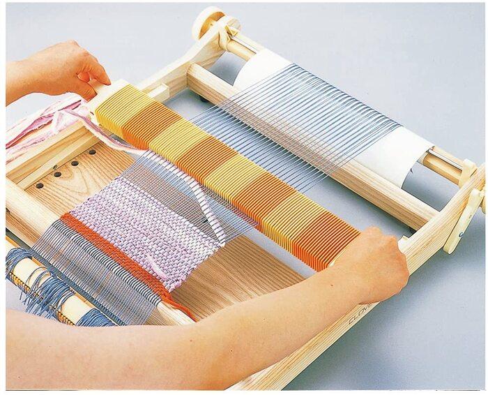 Clover 手織り機 咲きおり 40cm 30羽セット