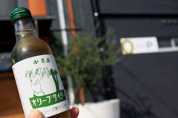 オリーブの産地として有名な小豆島のオリーブサイダー。オリーブの香りがふわりと広がり、リンゴに似た爽やかな味わいが特徴です。オリーブの新たな楽しみ方を見つけられますよ!