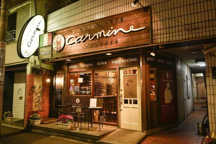 1987年にオープンしたイタリアンレストラン「カルミネ」は、日本で最初のイタリア人シェフ、カルミネ・コッツォリーノさんがいるお店。