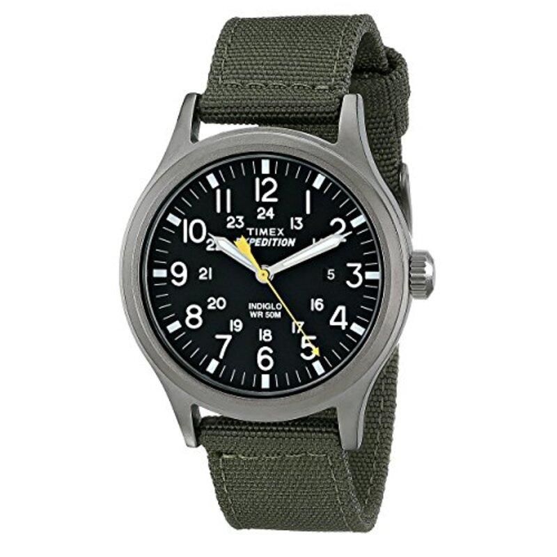 Timex メンズ エクスペディションスカウト 40腕時計 グリーン