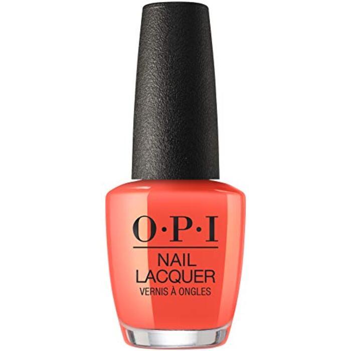 OPI(オーピーアイ) ネイル マニキュア セルフネイル ネイルポリッシュ(NLT89 テンプラチャー イズ ライジング!) ネイルカラー サロンネイル 塗りやすい マニュキュア オレンジ 15mL