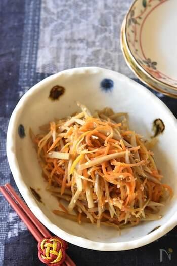 常備菜にもピッタリ!【きんぴら】を季節の食材でいろいろアレンジ!レシピ17品