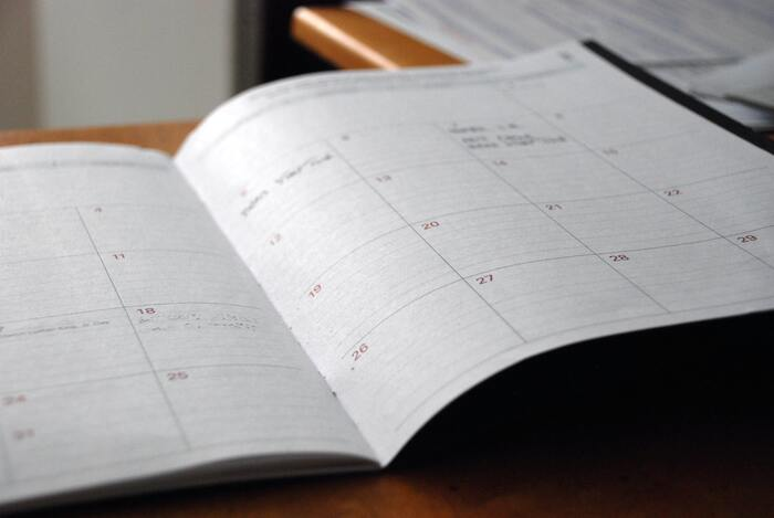 年末で慌ただしくなる12月は予備月に。掃除が足りない場所をきれいにしましょう。この1年を見直し、来年のお掃除計画を立てるのもいいですね。