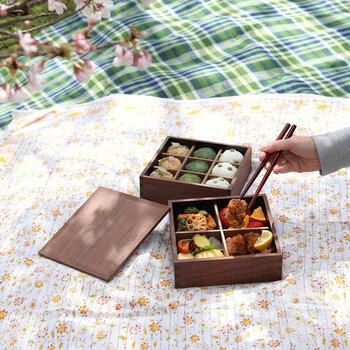 蓋を開ける、あの瞬間が待ち遠しい!「行楽弁当箱」の魅力とおすすめ8選