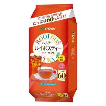 日本茶でお馴染み、「伊藤園」の「ヘルシールイボスティー」は、飲みやすくておすすめ。紅茶のような香り&すっきりとした後味が特徴的なんです。  100%のルイボス茶葉を使用しており、もちろんカフェインゼロ。そして、乳児も飲める「乳児用規格適用食品」のお墨付きなので、「赤ちゃんや高齢者と暮らしているご家庭の、毎日常備するお茶」にも良いですね。妊娠中の方にとっては、妊娠中から出産後の自分用、そして我が子へと・・・ずっと長い期間愛飲できるお茶になりそう◎  「3.0g」×60バッグ入りなので、量も十分です。