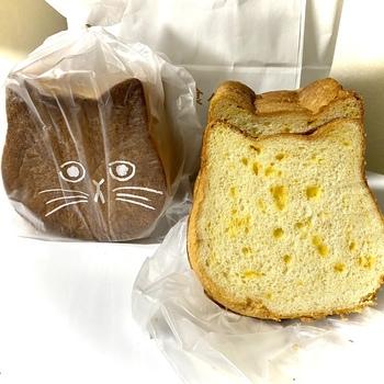 外袋にはネコの顔が描かれていますよ。チョコペンで表情を描いたり、チーズやお野菜などお気に入りのトッピングでおめかしして楽しみましょう。