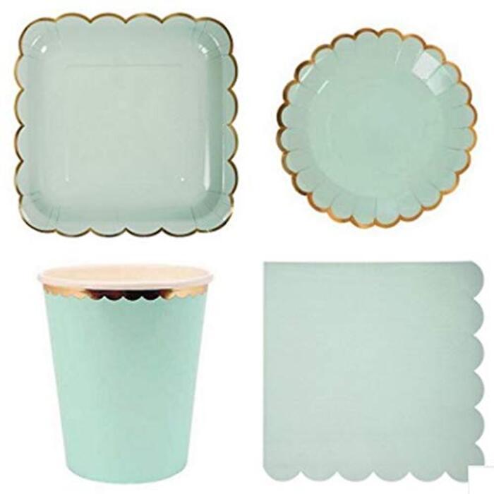 Lumierechat 紙皿 紙コップ テーブルウェア