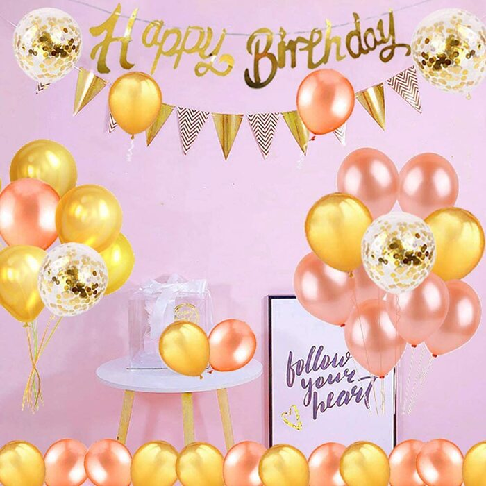 誕生日 飾り付けセット バルーン ガーランド