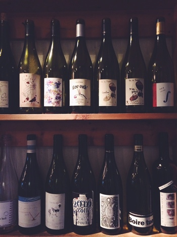 自然派のものにこだわったワインは、どれもお料理との相性抜群。ついつい色々試してみたくなる、お酒のすすむお店です♪