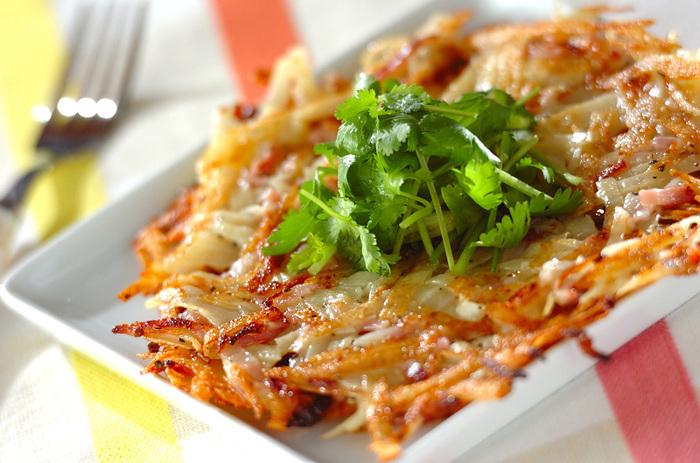 ピザ感覚で食べたい♪『じゃがいものガレット』基本レシピ+具材アレンジ集