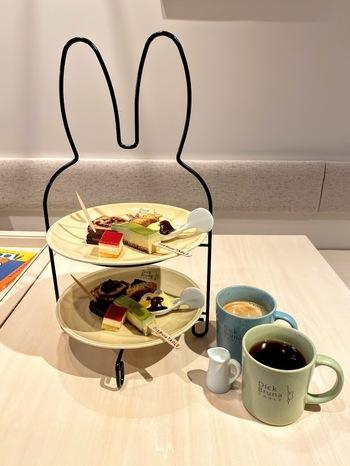 15:00~10食限定の「アフタヌーンデザートセット」