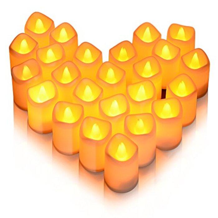 Litake LED キャンドル キャンドルライト 24個セット