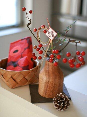 お正月らしい飾りも購入すれば、お家で過ごす年始も華やかに。大晦日のうちにお正月準備をしておきましょう。
