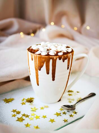 カカオ風味の濃厚な甘さ*ほっと温まる「チョコレートドリンク」レシピ