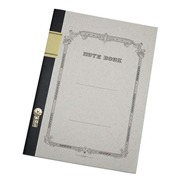ツバメノート ノート B5 横罫 30枚 W3001 4冊パック