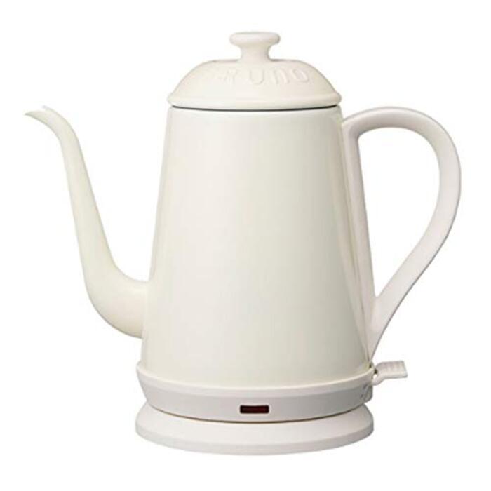 BRUNO ブルーノ ポット 湯沸かし器 ケトル 1リットル お茶 おしゃれ ホワイト BOE072-WH