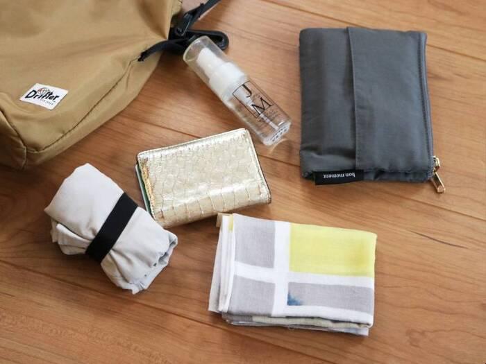 「バッグの中身」は変わった?今持ちたい新しい生活様式に適したアイテム13選