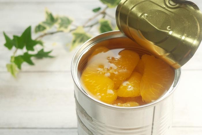 罪悪感なしの簡単おやつ♪「ミカン・桃の缶詰」で作るぷるぷるデザートレシピ