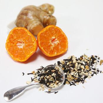 すっきりとした味わいが特徴の紅茶と生姜のコンビに、国産みかんをブレンドすることで爽やかな香りをプラス。みかんの香りとスパイシーな風味の紅茶は、ほっとリフレッシュしたいときにおすすめです。