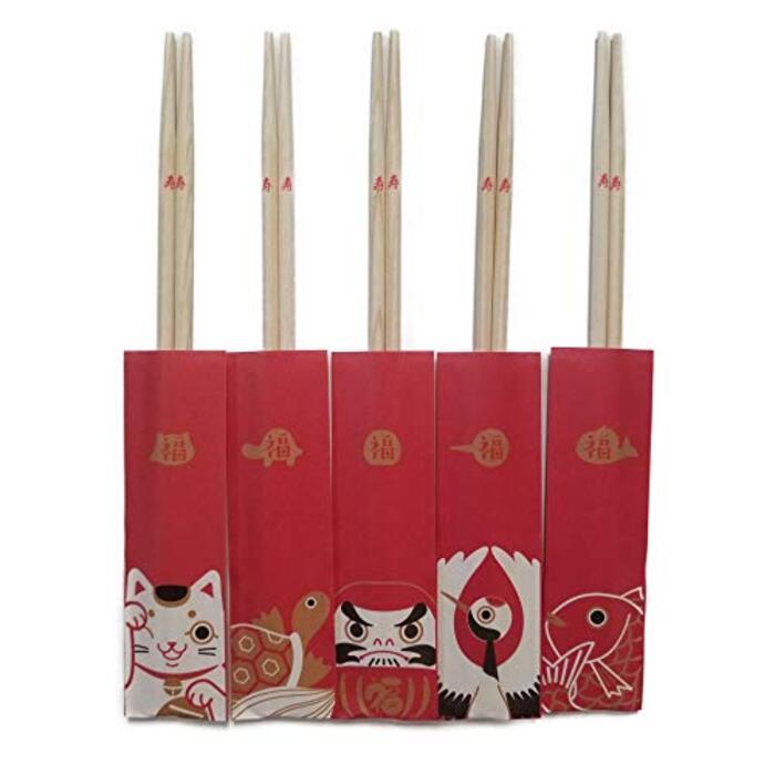 きくすい 国産 日本製 桧祝箸 幸福