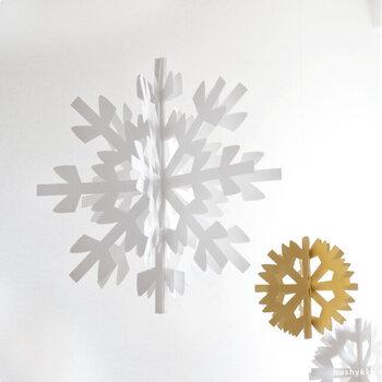 繊細で儚げ*「雪の結晶モチーフ」を冬ファッション&インテリアに