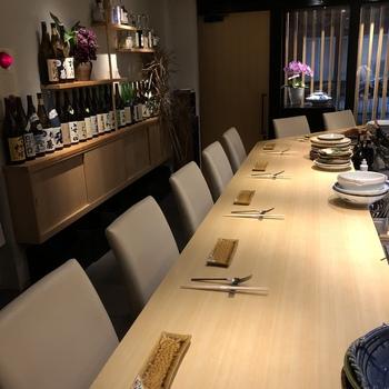 一つの厨房に和食とイタリアンのシェフがいるとは、なんとも贅沢!「あんちゅう」という店名も、安住シェフ・中澤シェフ、お二人の名前を合わせて付けられたそうです。