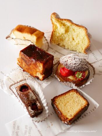 店主の久保田由希さんが作る焼き立てのお菓子は、どれも感動の味。現地フランスで製菓を学びながら心惹かれたのは、華やかなものよりも素朴な毎日のお菓子だったそう。