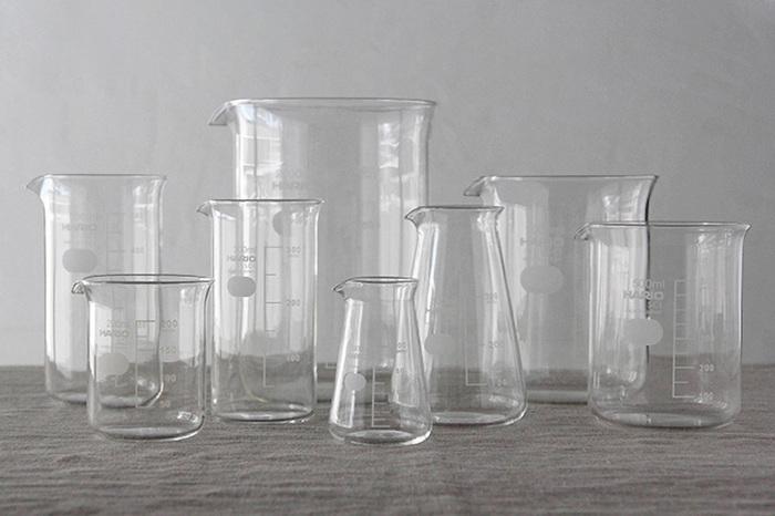 理科室みたいで心ときめく*スタイリッシュで美しい「ガラス容器」カタログ