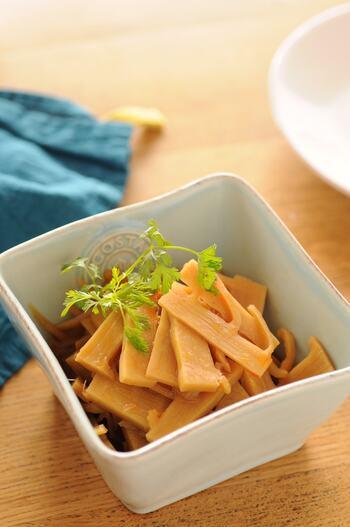 水煮たけのこでOK!「自家製メンマ」作り方&絶品アレンジレシピ