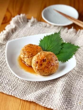 お弁当にも入れやすい。アレンジいろいろ【つくね】のレシピ