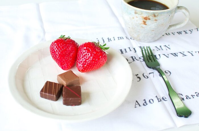 ティータイムにはもちろん、急なお客様の時には、いつものお菓子をちょっと盛りつけるだけで立派なおもてなしの一皿に。