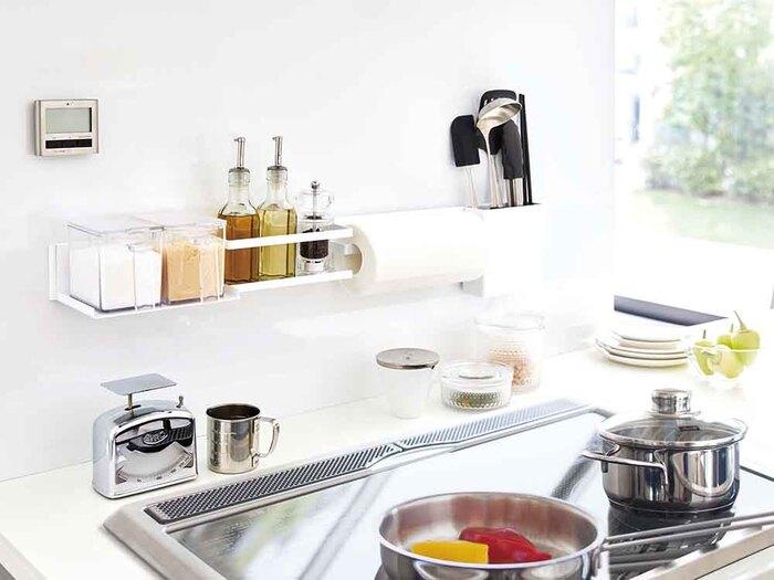 キッチン収納・保存容器は「白」で揃えてすっきりさせよう