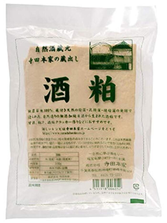 寺田本家 自然酒 酒粕 500g ■要冷蔵