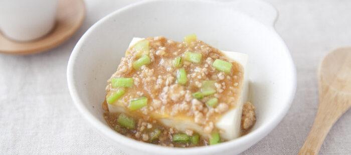 すりおろしたカブがまるまる一個入ったレシピ。カブの葉もあんに加えてムダなく栄養価もアップ。