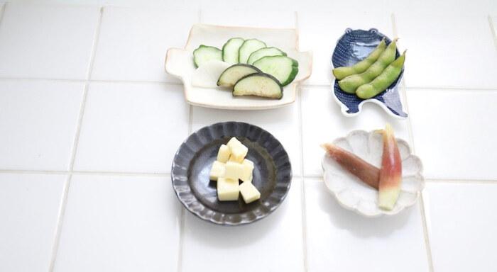 定番野菜の他、枝豆やチーズなども意外とおすすめ。きゅうりなら12~18時間ほど漬けたら食べ頃に。おうち時間の新しい楽しみとして始めてみませんか?