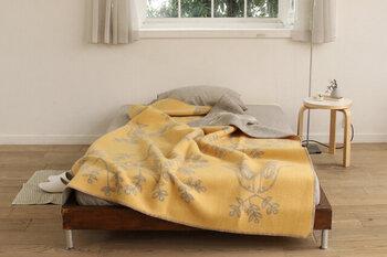 135×200cmの大きめサイズは、ベッドカバーや薄手の毛布代わりにも◎お昼寝やリラックスタイムに手離せなくなる心地よさです。