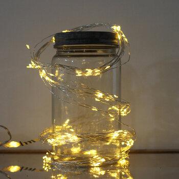 クリスマスが終わっても楽しめる♪ライトで演出する素敵なインテリア